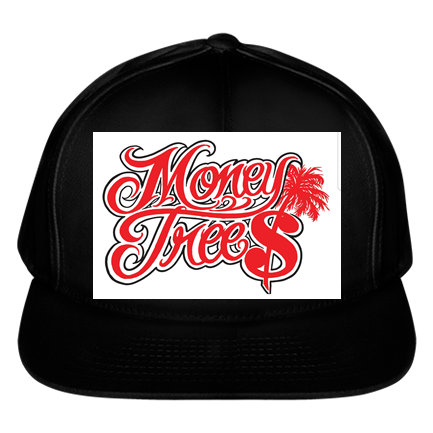 c0bd8a73 money trees logo - Custom Embroidered Solid Color Cotton Snapback - 6007  70536857A697