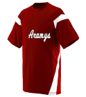 Aramys12 DISCONTINUED Adult Two Color Block Crew Neck Jersey  - 1610