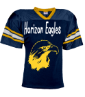 Horizon Eagles-Mowatt-35 - Custom Heat Pressed YouthTeam Football Jersey - Teamwork Athletic -1314 602D8398BFDB