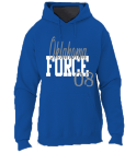 Oklahoma-FORCE-08 - Custom Heat Pressed Jerzees Sweatshirt 996M 49F694E80355
