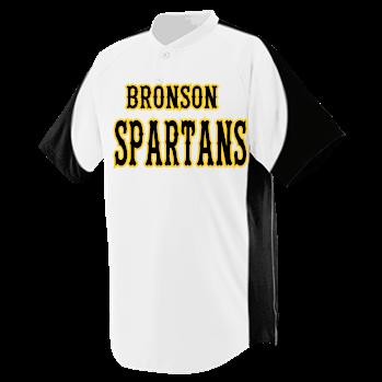 b973f2ee8 Bronson-Spartans-Weeks-7 - Custom Heat Pressed Youth Blast Baseball Jersey  - 1531 CA70DB1CE01D