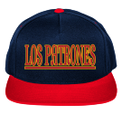 LOS PATRONES-FAMILY RESTAURANTS - Custom Embroidered Two Color Cotton Snapback  - 6007T 9E440F423D92