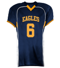 eagles  - Custom Heat Pressed Youth Tackle Football Jerseys - 1303 0D54AB8A921F