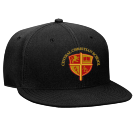 central christian school - Custom Embroidered Snapback Flat Bill Hat - 125-978 BD0737AC4438