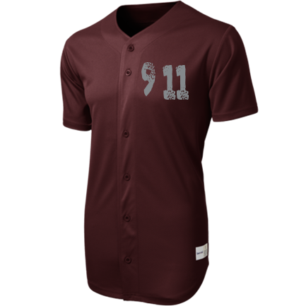 1326a26de67 9 11 -JOEY BOI-01 - Custom Heat Pressed Full Button Baseball Jersey - ST220  E24EAAA5BDA3