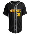 WORDWARE-31-PROVERB-31 - Custom Heat Pressed Adult Full Button Baseball Jersey - N4184 8C843A84B2C1