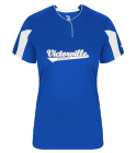 00 - Custom Heat Pressed Ladies Softball Jersey - 617600 C32C7AC8E9CB