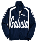 Galicia -Balderrama -23 - Custom Heat Pressed Youth Customized Colorblock Raglan Jacket  - YST60 FC956F4D5A9D