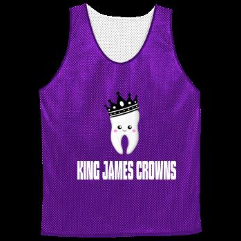 46edd10ce5f3 KJC-KING JAMES CROWNS - Custom Heat Pressed Adult Reversible Basketball  Jerseys - NF1270 8FB54CAC7B5F