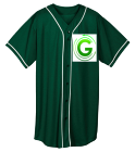 G-Man-G-Man - Custom Heat Pressed Youth Full Button Wicking Mesh Jersey  - 594 16A8AB50D6F8