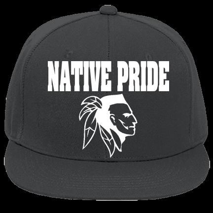 NATIVE PRIDE-NAVAJO - Custom Embroidered Flat Bill Fitted Hats 123-969  E99544A2F17C a92fd9ca326