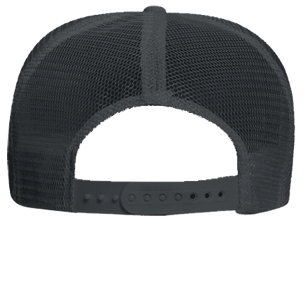 461e5a7a2 1849 black high crown - Custom Heat Pressed Otto Trucker Hat 39-165