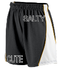 SALTY-CUTE- DISCONTINUED Augusta Ladies Wicking Mesh Basketball Varsity Shorts - 978