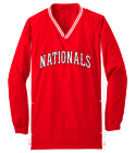 nationals red - Custom Heat Pressed Youth Customized Wind Shirt - YST62 1177457A5610
