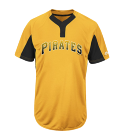 11 Youth Pirates Two-Button Jersey - Pirates-MAIY83