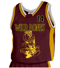 DETOSIL - Custom Heat Pressed Youth Basketball Jersey - Jammer Series - Teamwork Athletic - 1483 E2C0006A85NU