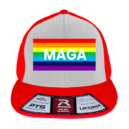 06c31131c MAGA PRIDE - Custom Heat Pressed Youth Flex Fit Hat - PTS20Y