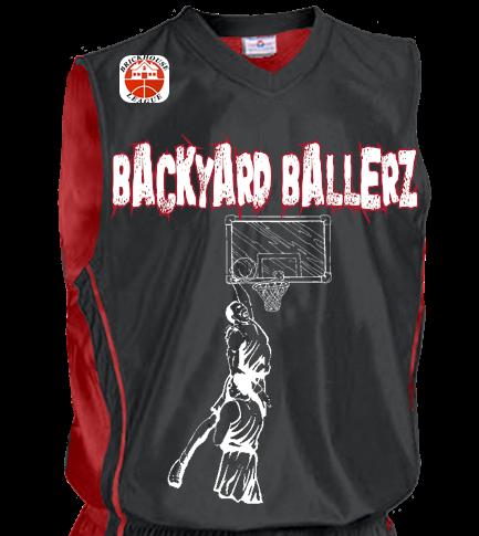 Brickhouse David Adult Reversible Dazzle Basketball