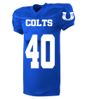 COLTS-40-JACKSON-40 - Custom Screen Printed Youth Football Jersey  - 9561 4653092109D7