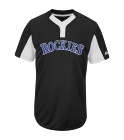 melissa Youth Rockies Two-Button Jersey - Rockies-MAIY83