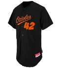 42-THGTTG - Custom Heat Pressed Orioles Full Button Baseball Jersey - Adult 7E3DCFCD7127
