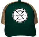 Yak Life - Custom Heat Pressed Low Pro Trucker Style Otto Cap 83-474 C38CA9395C2B
