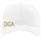 DCA - Custom Screen Printed Cotton Snapback Two Color Hat - 212 BCE6EE420639