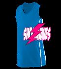 SA-Unicorns Girls Racerback V-Neck Jersey
