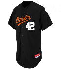 Sauls - Custom Heat Pressed Orioles Full Button Baseball Jersey - Adult AD490B8A3A7E
