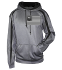 VETERANS UNLEASHED -VETERANS UNLEASHED-VETERANS UNLEASHED - Custom Embroidered Adult Two Color Fusion Hoodie - 1467-badger 7EDC38544ADD