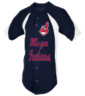 12-FLORES - Custom Heat Pressed Adult Mustang Baseball Jersey - 1858B C50F1A65502A