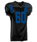 Cowboys PR Black - Custom Heat Pressed Adult Football Uniforms Express Shipped - 1353 035FEEFB6FBC