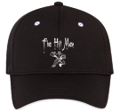 The Hit Men - Custom Heat Pressed Low Profile Otto A-Flex Stretchable Cool Mesh Otto Cap 94-619 (SM) EDB71C18E762