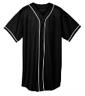 RS - Custom Heat Pressed Adult Full Button Wicking Mesh Jersey  - 593 56841A3D2DD7