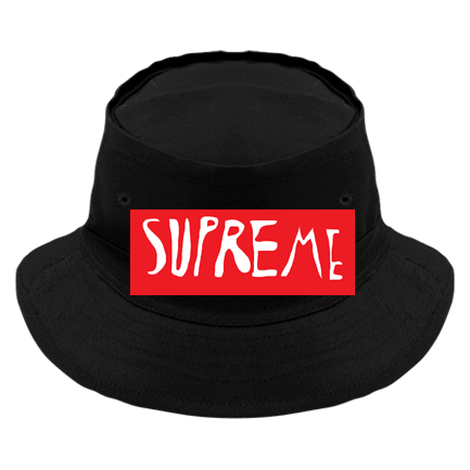 Fake Supreme - Custom Heat Pressed Original Bucket Hat - 450 3613542083FE 8404ac24d4d