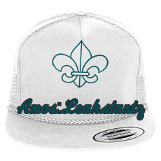 Leah Stantz - Custom Screen Printed Classic Poplin Golf Mesh Trucker Hat -  6003 D6E957788037 1ac7d2d2bf7d