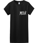 MOOK-MOMMA LION - Custom Heat Pressed Womens Junior Shirts & Tees Gildan® Ladies SoftStyle™ Cotton T-Shirt 91731FED52F3
