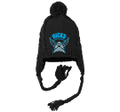 HICKS OFFROAD DESIGN - Custom Heat Pressed Knitted Ear-Flap Pom Pom Beanie - DT617 DBB4BFD45FD7