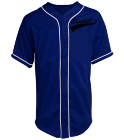 T. HEYWOOD-7 - Custom Heat Pressed Teamwork Athletic Full Button Baseball Jersey - 1860B C09E3E4E8370