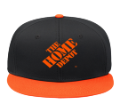 thd - Custom Screen Printed Snap Back Flat Bill Hat - 125-1038 AE728C5D97F1