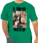 ST. PADDY DAY-MOOD - Custom Heat Pressed One Color Custom T-Shirt Only $14 962C5863B8EC