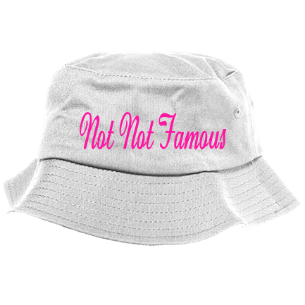 cefdf96c Not Not Famous - Custom Heat Pressed Bucket Hat - 2050 One Size Fits All  9C1575274482A