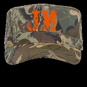JM - Custom Embroidered Military Cap Otto Cap 41-581