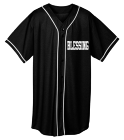 BLESSING-name-# - Custom Heat Pressed Adult Full Button Wicking Mesh Jersey  - 593 4F523569BDB4