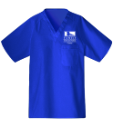 ffac - Custom Heat Pressed Unisex V-Neck Scrubs - 220C 30740E997DA0