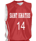 SAINT-IGNATIUS1414 Youth 2-Color Reversible Basketball Jersey