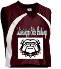 Mississippi Elite Bulldogs - Custom Heat Pressed Adult Tip Off Basketball Jersey - Teamwork Atheletic - 1430 DBA32594C0E4