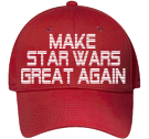MAKE-STAR WARS-GREAT AGAIN-WE'RE DOOMED - Custom Heat Pressed Low Profile Otto A-Flex Stretchable Otto Cap 94-518 (LXL) DBE9FCE4EA86