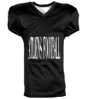 ATLiens Football  - Custom Heat Pressed Reversible Football Jersey Adult -1357 B671B9ADCE32