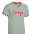 Aramys - Custom Embroidered Teamwork Athletic Adult V-Neck Baseball Jersey - 1770 74116D5429A0